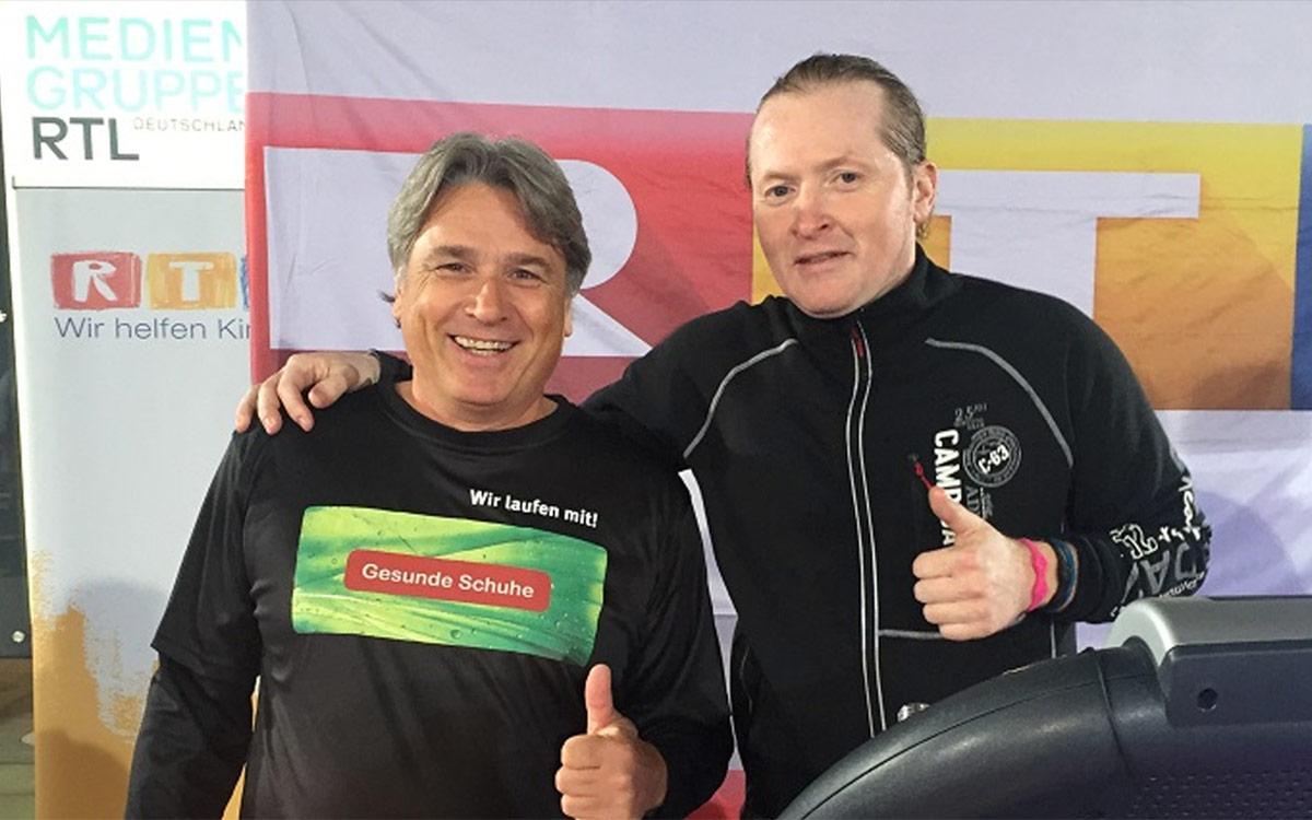 RTL Spendenmarathon Joey Kelly